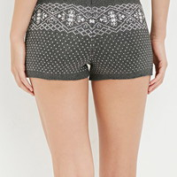 Fair Isle-Patterned Shorts