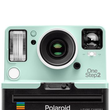 Limited Edition Retro Mint OneStep 2 Viewfinder i-Type Polaroid Camera