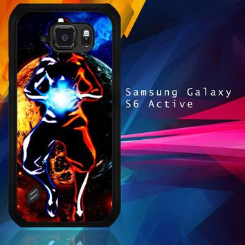 Avatar Aang The Last Airbender Z0003 Samsung Galaxy S6 Active  Case
