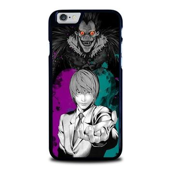 light and ryuk death note iphone 6 6s case cover  number 1