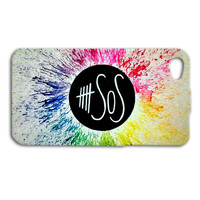 5 SOS Phone Case Beautiful Bright Five Seconds of Summer iPhone Custom Case Cute iPod Cover iPhone 4 iPhone 5 iPhone 5s iPhone 4s iPod Case