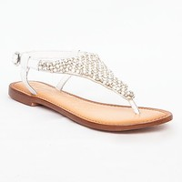 Naughty Monkey Diamonds & Pearls Sandal