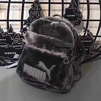 Trendsetter Puma Casual Sport School Shoulder Bag Satchel Laptop Bookbag Backpack