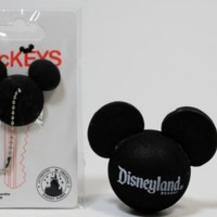 """DISNEYLAND Rersort """"Mickey Mouse"""" Antenna Topper & Key Cover - Disney Parks Exclusive & Limited Availability + Colored Belt Clip Key Chain Included"""