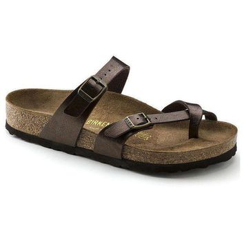 DCCK1 Birkenstock Mayari Birko Flor Graceful Toffee 71941 Sandals