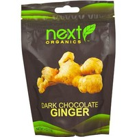 Next Organics Dark Chocolate Ginger  (6x4 OZ)