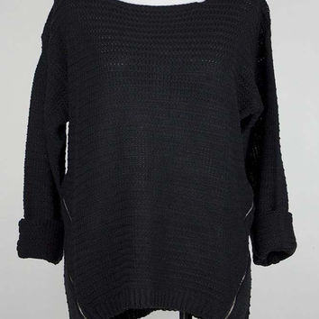 Mia Zipper Sweater