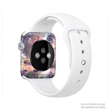 The Vivid Colored Forrest Scene Full-Body Skin Set for the Apple Watch
