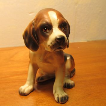 LEFTON BEAGLE PUPPU FIGURINE