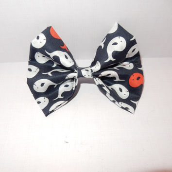 Whale Dog Bow Tie