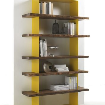 OPEN WOODEN BOOKCASE CRAZY | RIVA 1920