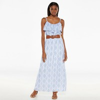 AB Studio Tribal Gauze Maxi Dress - Women's