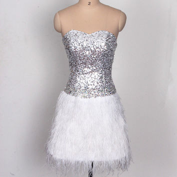 Best Ostrich Feather Dress Products on Wanelo