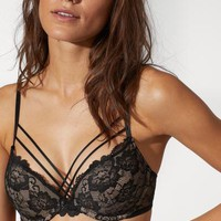 Super Push-up Lace Bra - Black - Ladies | H&M US