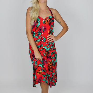 Tropical Dream Midi Dress