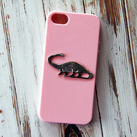 Dinosaur iPhone 5 Case, Animal iPhone 6 Case, Pink iPhone Case, Dinosaurs, iPhone 5s Case, Samsung Galaxy S3 Case, iPhone 6 Plus Cases Gift