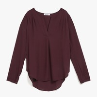 Ines Pleated Shirt