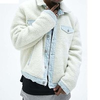 high street warm wool Jacket Hip Hop Winter Jacket Men Coat fashion men Casual jacekts Oversize