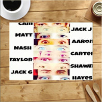 Magcon Boys Eye Family Placemats