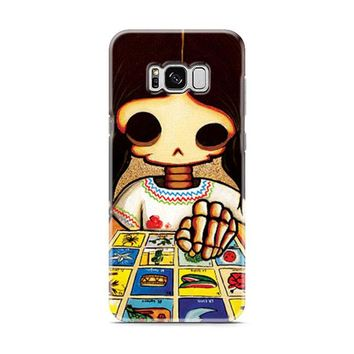 Day Of The Dead Skeleton Girl Samsung Galaxy S8 | Galaxy S8 Plus Case