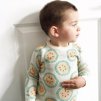 1-5 Years Baby Boys Girls Sweater Toddler Autumn Winter Sweaters Watermelon Pattern Kids Outfits Infant Kintted Pullovers