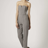 **Bandeau Skinny Tailored Jumpsuit by Rare - Topshop