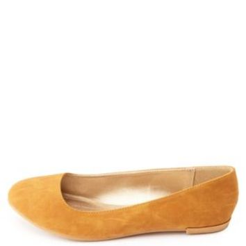 Essential Round Toe Ballet Flats by Charlotte Russe