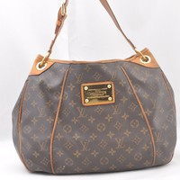 Authentic Louis Vuitton Monogram Galliera PM Shoulder Bag M56982 LV 44301