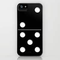 Domino iPhone & iPod Case by Nicklas Gustafsson