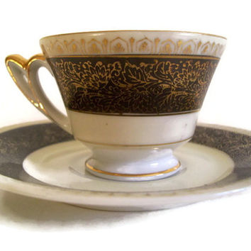 Vintage Occupied Japan Demitasse Cup and Saucer