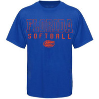 Florida Gators Frame Softball T-Shirt - Royal Blue