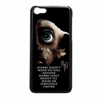 Deathly Hallows Dobby Harry Potter Quote iPhone 5c Case