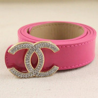 iOffer: pink belt for lady women girls for sale
