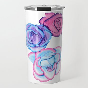 Roses Travel Mug by drawingsbylam