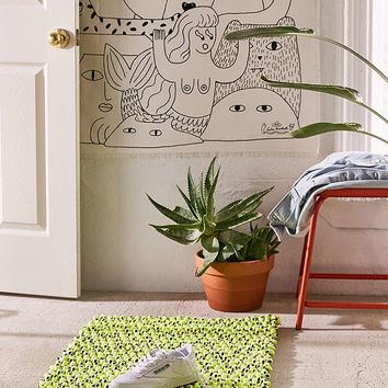Wynn Neon Corded Rug | Urban Outfitters