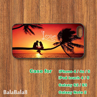 LOVE - iPhone  4 case, iphone 5 Case, iPod 4 case,  iPod 5 case, ipod touch case, Samsung Galaxy S3 / S2 case Galaxy note 2 case