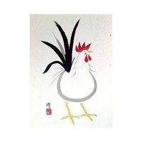Japanese Roosters, III