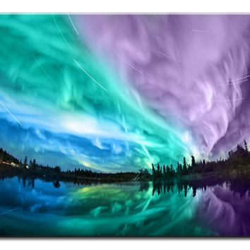 Northern Lights- 1 panel XL