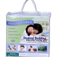 Student Bedding Protection Kit Twin XL Dorm Sleeping Safe Protected Allergies Dust Bed Bugs