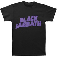 Black Sabbath Men's  Classic Logo T-shirt Black