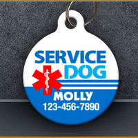 Service Dog PET ID TAGS