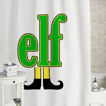 Elf Shower Curtain Custom Showercurtain