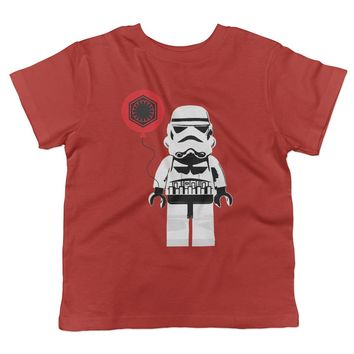 Lego Stormtrooper Valentine's Day Toddler T-Shirt