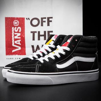 Fashion Online Trendsetter Vans Classics 1966 Ankle Boots Old Skool Canvas Flat Sneakers Sport Shoes