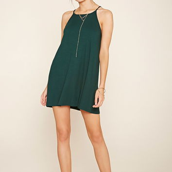 Ribbed Square-Neck Dress | Forever 21 - 2000205303