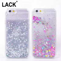 Luxury Fashion Liquid Glitter Sand Star Quicksand Clear Back Cover Case For Apple iPhone 6 Case For iphone 6S 6 Plus Phone Cases