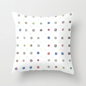 Looking for the extraordinary in plain sight Throw Pillow by Anipani