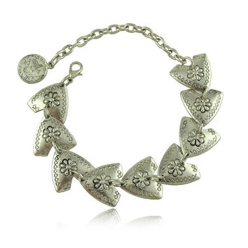 Tibetan Silver Plated Jewelry Gypsy Coin Carving  Vintage Styling Bracelets Retro Gold And Silver Plated Bracelets Jewelry Gifts
