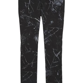 Trapstar Marble print skinny jeans