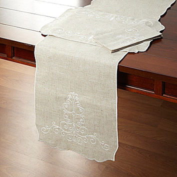 Lenox French Perle Table Linen Collection - Linen